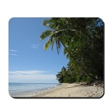 Fiji Beach Scene Mousepad