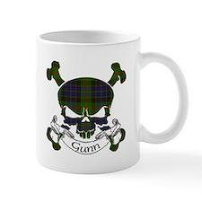 Gunn Tartan Skull Mug