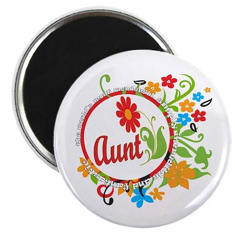 "Wonderful Aunt 2.25"" Magnet (100 pack)"