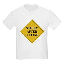 Sticky Baby Warning T-Shirt