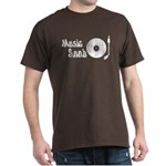 Music Snob Dark T-Shirt