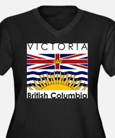victoriabritishcolumbia Plus Size T-Shirt