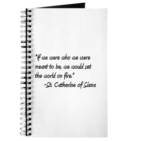 St. Catherine World on Fire Journal