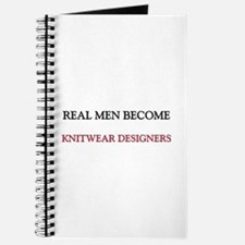 Real Men Become Knitwear Designers Journal