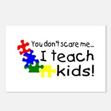 You Dont Scare Me I Teach Kids Postcards (Package