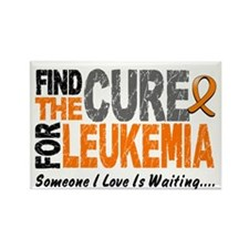 Find The Cure 1 LEUKEMIA Rectangle Magnet