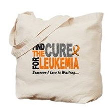 Find The Cure 1 LEUKEMIA Tote Bag