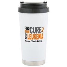 Find The Cure 1 LEUKEMIA Travel Mug