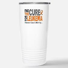 Find The Cure 1 LEUKEMIA Travel Mug