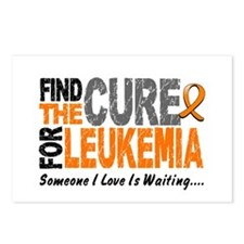 Find The Cure 1 LEUKEMIA Postcards (Package of 8)