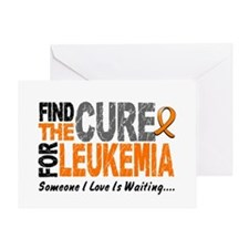 Find The Cure 1 LEUKEMIA Greeting Card