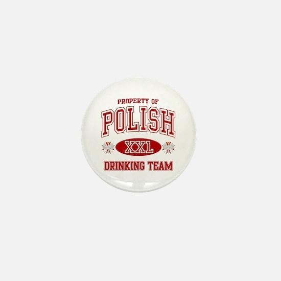 Polish Drinking Team Mini Button