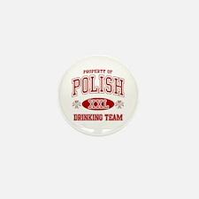 Polish Drinking Team Mini Button (10 pack)