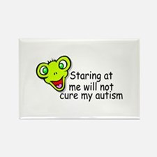 Staring At Me Will Not Cure My Autism Rectangle Ma