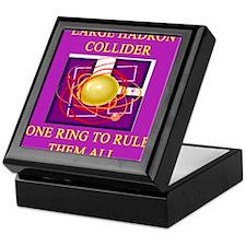 large hadron collider Keepsake Box