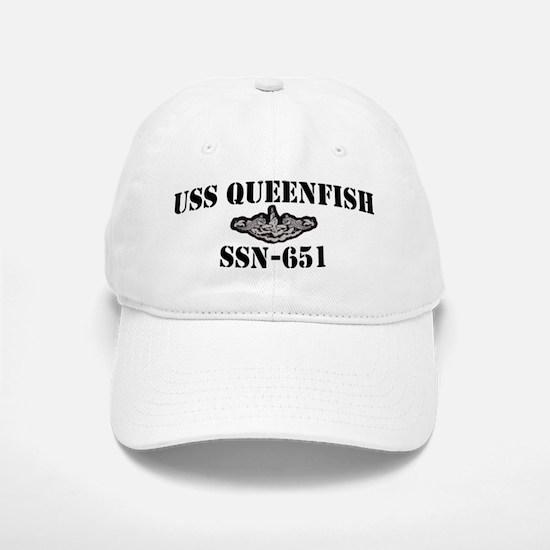 USS QUEENFISH Baseball Baseball Cap