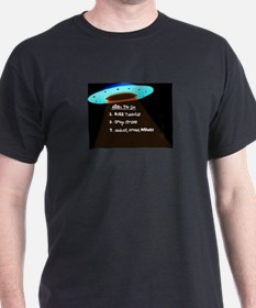 UFO To Do T-Shirt