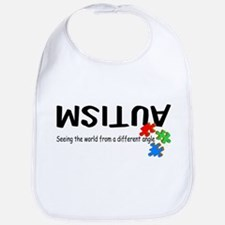 Autism Seeing The World From A Different Angle Bib