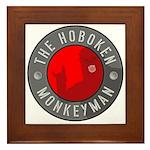 Hoboken Monkeyman Framed Tile