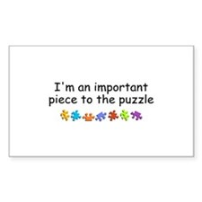 Im An Important Piece To The Puzzle Decal