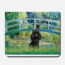 Bridge / Poodle (Black) Mousepad