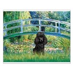 Bridge / Poodle (Black) Small Poster