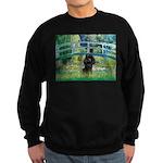 Bridge / Poodle (Black) Sweatshirt (dark)