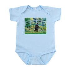 Bridge / Poodle (Black) Infant Bodysuit