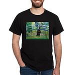 Bridge / Poodle (Black) Dark T-Shirt
