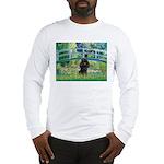 Bridge / Poodle (Black) Long Sleeve T-Shirt