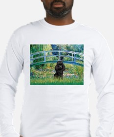 Bridge / Poodle (Black) Long Sleeve T-Shirt