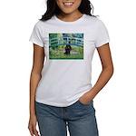 Bridge / Poodle (Black) Women's T-Shirt