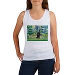 Bridge / Poodle (Black) Women's Tank Top