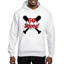 -Sidney Baseball Hoodie Sweatshirt