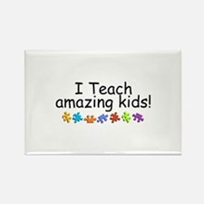 I Teach Amazing Kids Rectangle Magnet