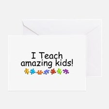 I Teach Amazing Kids Greeting Card