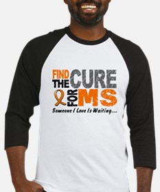 Find The Cure 1 MS Baseball Jersey
