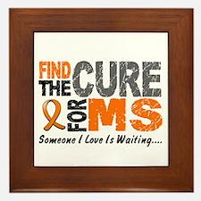Find The Cure 1 MS Framed Tile