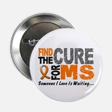 """Find The Cure 1 MS 2.25"""" Button (10 pack)"""