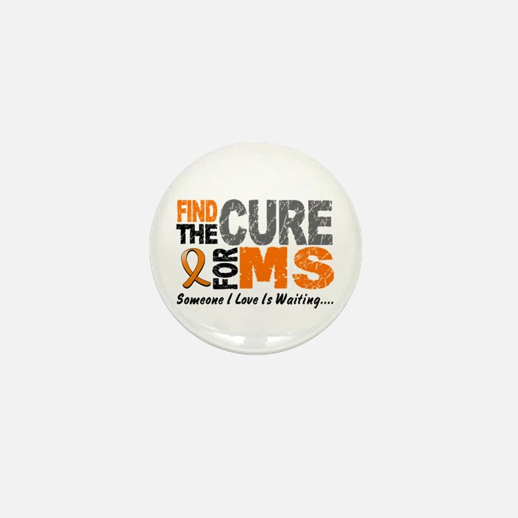 Find The Cure 1 MS Mini Button (100 pack)