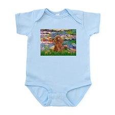 Lilies / Poodle (Apricot) Infant Bodysuit