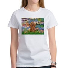 Lilies / Poodle (Apricot) Tee