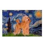 Starry / Poodle (Apricot) Postcards (Package of 8)
