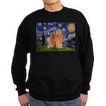 Starry / Poodle (Apricot) Sweatshirt (dark)