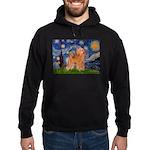 Starry / Poodle (Apricot) Hoodie (dark)