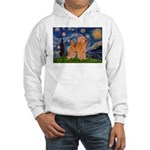 Starry / Poodle (Apricot) Hooded Sweatshirt
