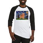 Starry / Poodle (Apricot) Baseball Jersey