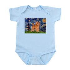 Starry / Poodle (Apricot) Infant Bodysuit