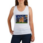Starry / Poodle (Apricot) Women's Tank Top