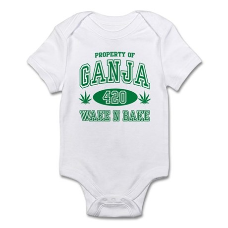 Ganja Legalize It Infant Bodysuit